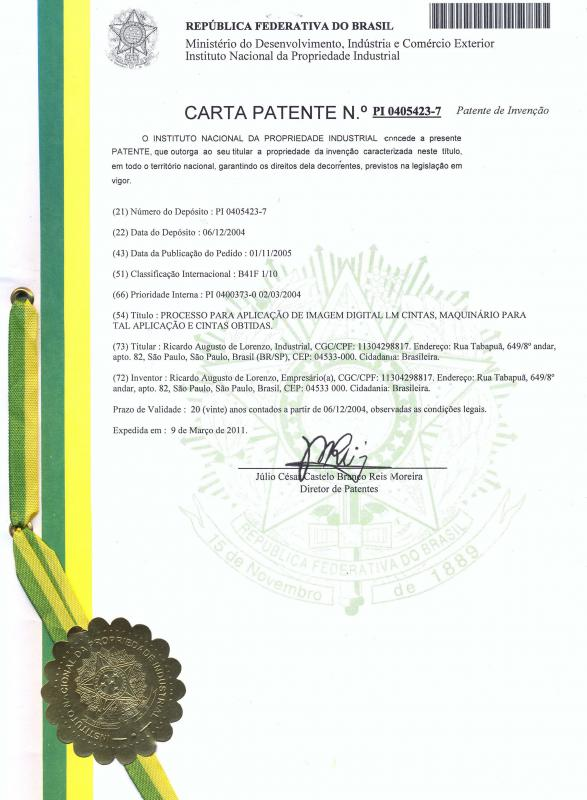 Carta patente